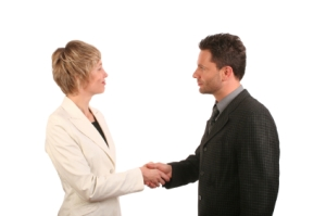 uncontested-divorce-couple-shaking-hands